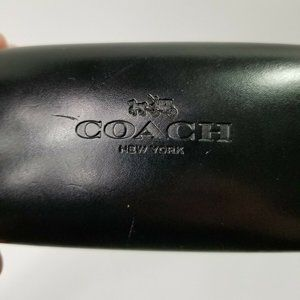 Coach New York Hard Case Sunglasses Glasses Black